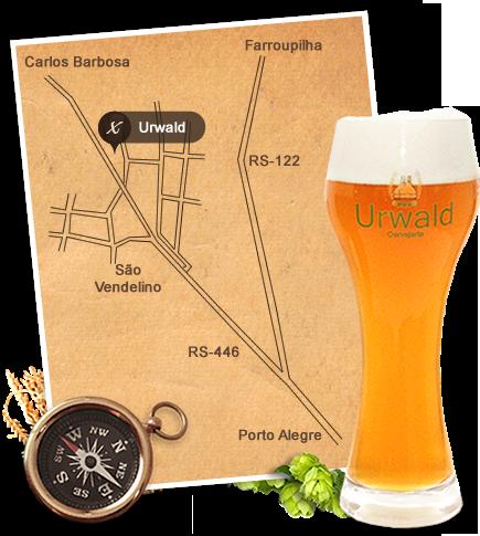 Mapa de Localização : Urwald